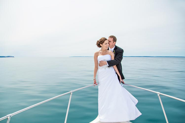 what to wear for a wedding on a yacht