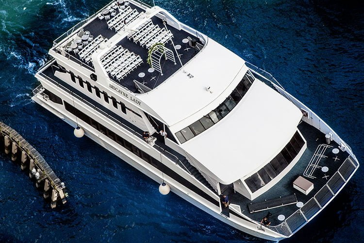 Biscayne Lady Party Yacht for Rental in Miami Beach
