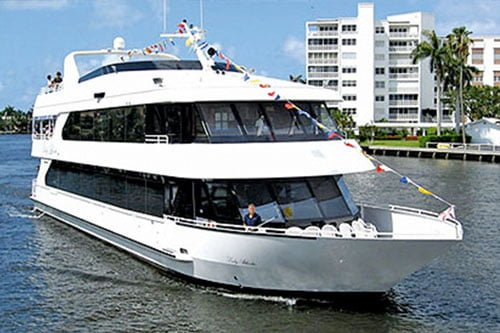 Lady Atlantic Party Boat Available For Events In Miami Florida