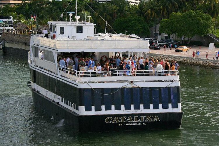 Catalina 130 Foot Long Party Boat In Miami Holds 250 Guests