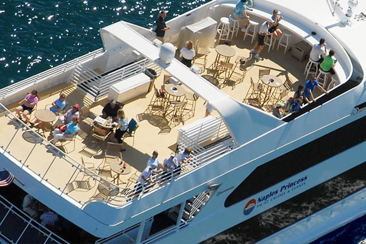 Naples Princess Guests 149 Charters From Boatmiami