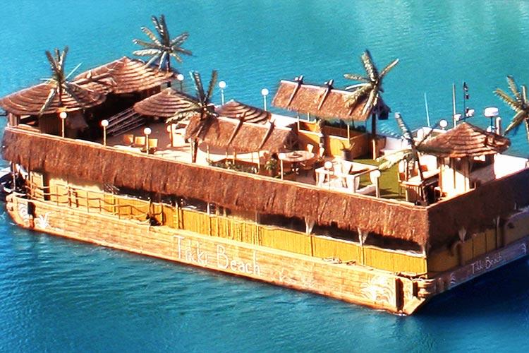 Tikki Beach Boat
