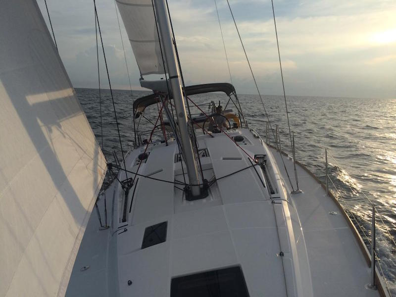Escape I Sun Odyssey 41 DS Charters from Boatmiami